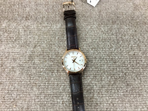 Seiko Rose Color Men's Leather Watch