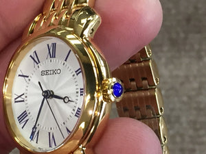 Seiko Women's Quartz Gold Tone Watch