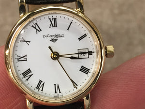 DeGrandpre Jewelers Women's Watch Gold Tone Water Resistant