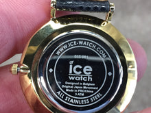 Load image into Gallery viewer, Gold Color Stainless Steel Ice Watch