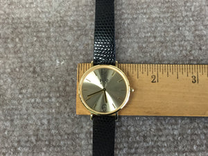 Gold Color Stainless Steel Ice Watch