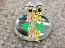 Load image into Gallery viewer, Owl Glass Figurine