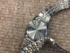 Seiko Women's Gold And Silver Color Watch