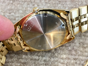Seiko Men's Gold Tone With Day And Date