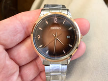 Load image into Gallery viewer, Seiko Men's Water Resistant Watch