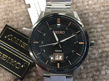 Load image into Gallery viewer, Seiko Stainless Steel Watch With Date