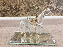 Load image into Gallery viewer, Horse Glass Figurine