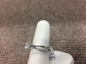 Split Shank Diamond Engagement Ring Gold Mounting
