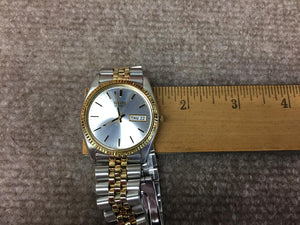 Seiko Men's Two Tone Watch SGF204