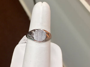 Women's Silver Signet Ring