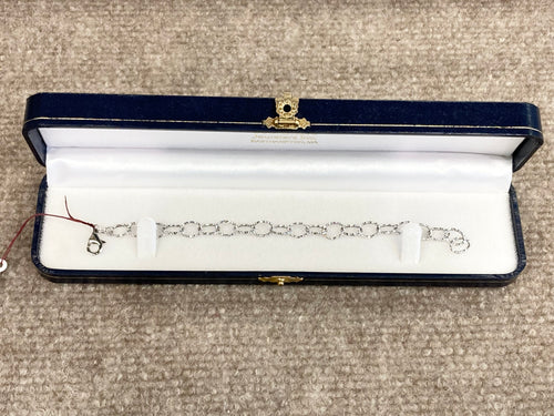 Ruby White Gold Earrings