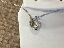 Load image into Gallery viewer, Silver Key To Your Heart Pendant With Chain