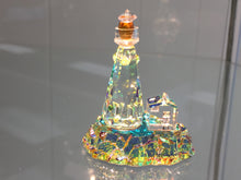 Load image into Gallery viewer, Harbor Lighthouse Crystal Figurine