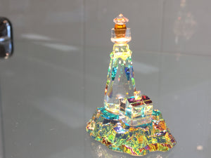 Harbor Lighthouse Crystal Figurine