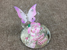 Load image into Gallery viewer, Always In My Heart Butterfly Glass Figurine