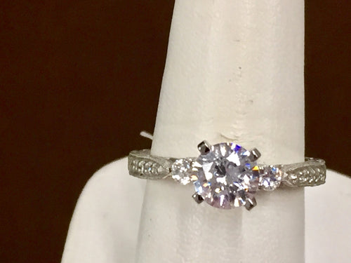 Diamond Engagement Ring 0.26 Carats Included