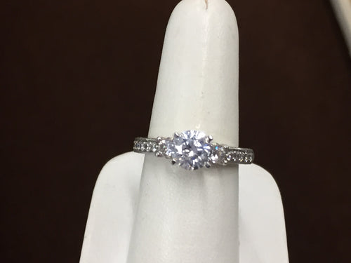 Diamond Engagement Ring Mounting 0.29 Carats