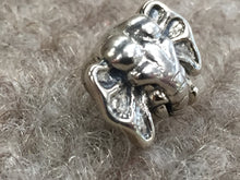 Load image into Gallery viewer, Elephant Silver Bead