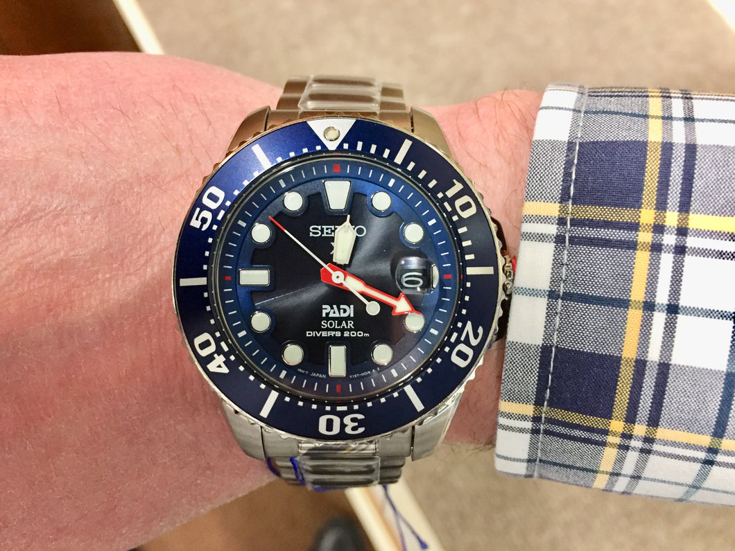 Seiko Prospex Divers Watch Solar