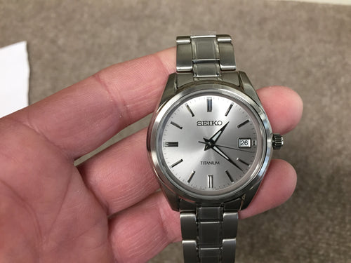 Seiko Titanium Watch