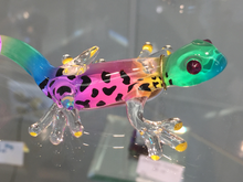 Load image into Gallery viewer, Gecko Glass Figurine