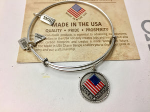 Made In USA Wind And Fire Expandable Bracelet