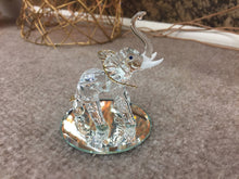 Load image into Gallery viewer, Elephant glass figurine