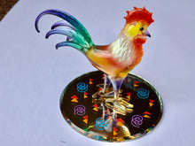Load image into Gallery viewer, Rooster Glass Figurine