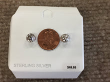 Load image into Gallery viewer, Sterling Silver 8 Millimeter Ball Stud Earrings