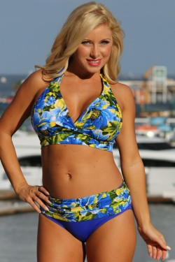Royal Islands Minimizer Plus Size Swimsuit