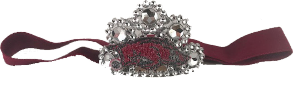 University of Arkansas Infant Headband