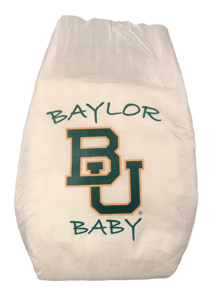 Baylor University Diaper 10 Pack