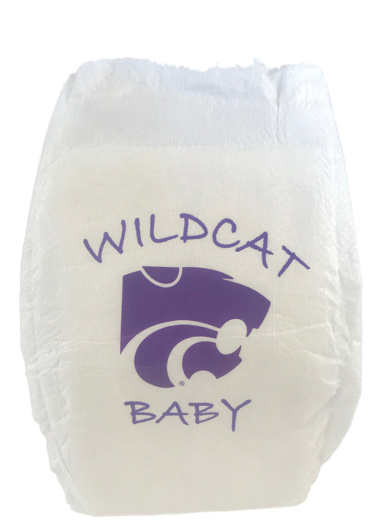 Kansas State University Diaper 10 Pack