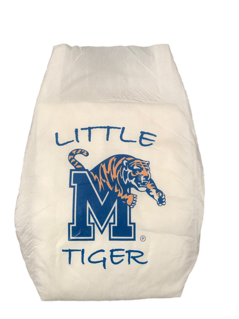University of Memphis Diaper 10 Pack
