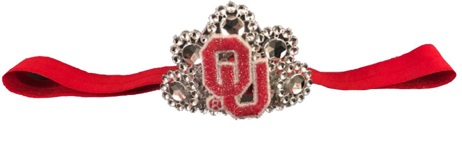 University of Oklahoma Infant Headband