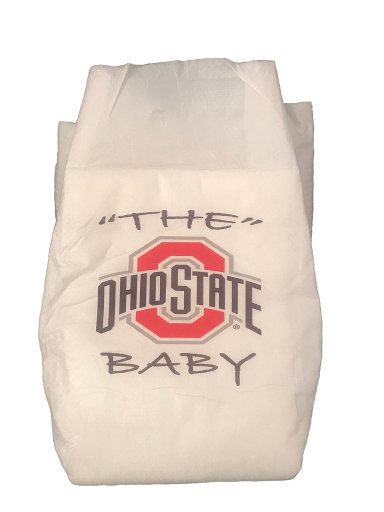 Ohio State University Diaper 5 Pack