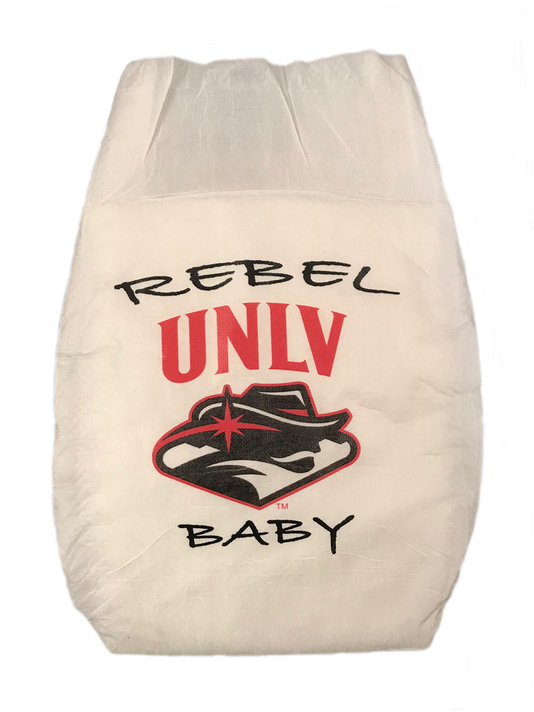 University of Nevada Las Vegas Diaper 10 Pack