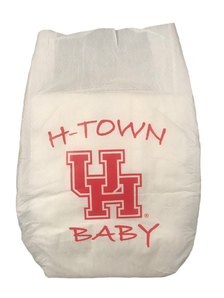 University of Houston Diaper 10 Pack