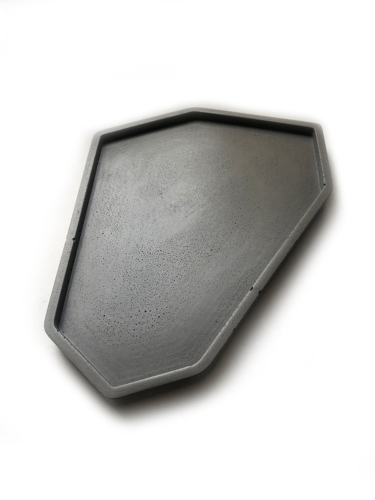 Large Catch All Tray: Dark Charcoal
