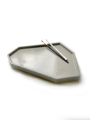 Skymint Large Catch All Tray: Classic Grey