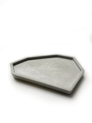 Skymint Medium Catch All Tray: Classic Grey