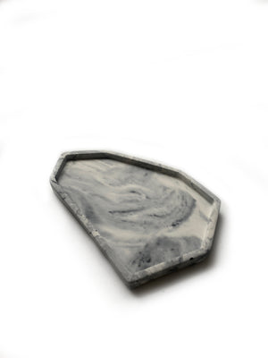 Medium Catch All Tray: Marbled