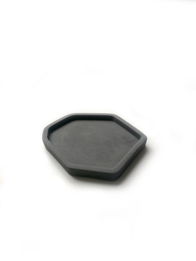 Small Catch All Tray: Dark Charcoal