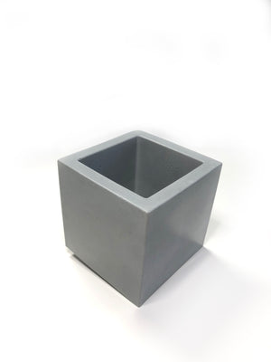 Medium Square Planter - Classic Grey