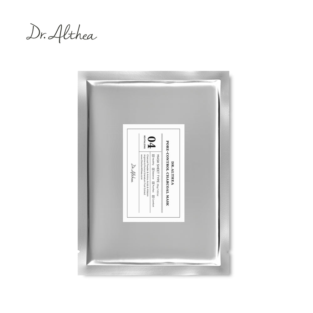 Dr Althea Pore Control Charcoal Mask