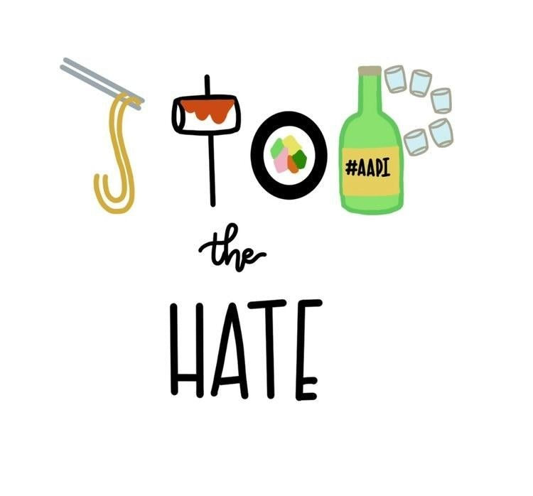 Stop the Hate Stickers