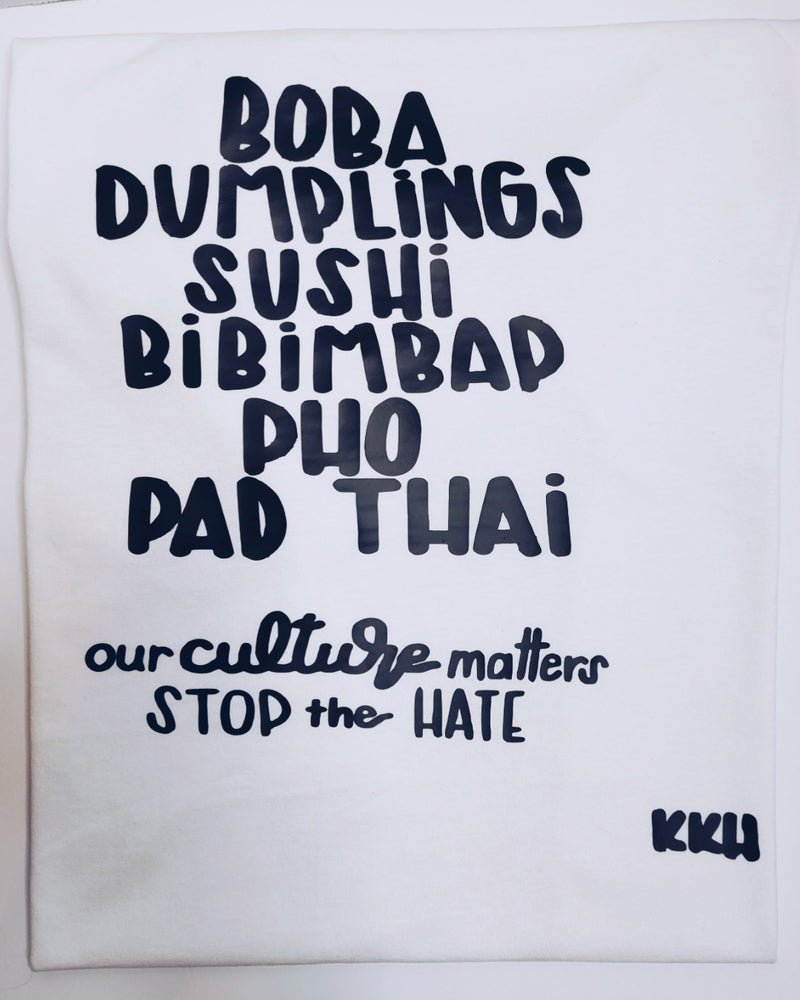 Stop the Hate Foodie T-shirt