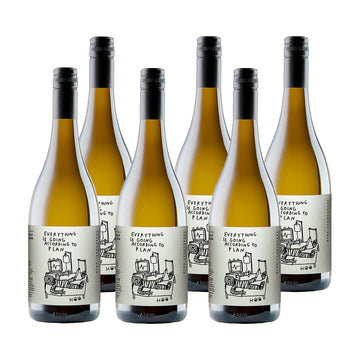 Everything Is Going According To Plan Chardonnay 6 pack: 15% Discount