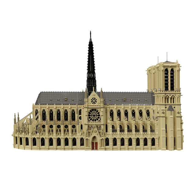 MOC Architecture Notre-dame de Paris - 63181 Pcs - Designed by Stebrick