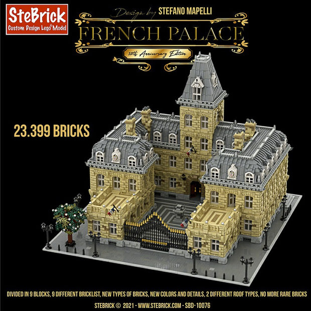 French Palace 10th Anniversary Edition - 23399 Pcs - Designed and Licensed by Stebrick